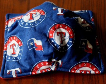 Texas Rangers Baseball Soup Bowl Cozy