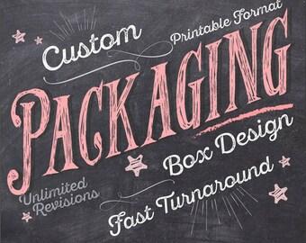 Packaging Design, Box Design, Custom Box Design, Custom Packaging Design