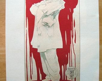 Pagliacci poster -- 11x14