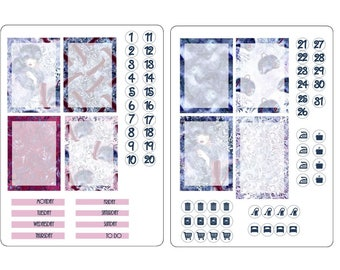 TN A6 boxes sticker kits 2
