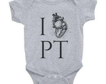 Physical Therapy Onesie Infant Bodysuit, Physical Therapist Gifts