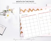 2018 Monthly Planner, Mon...