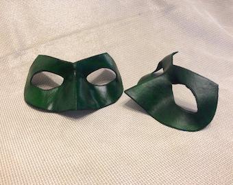 Leather Lantern Inspired Mask