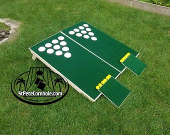 Chipping Beer Pong Golf Hole