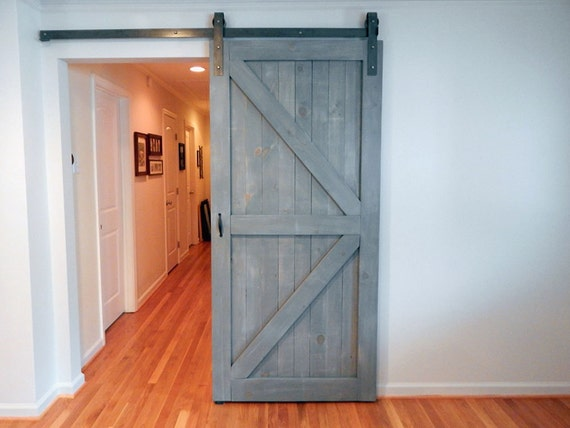 Atlanta Interior Sliding Barn Door Classic British Brace Arrow