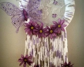 Butterfly Kisses Dreamcatcher