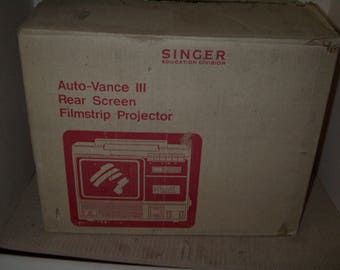 MIN Singer Filmstrip  Player