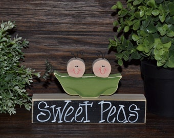 Two Peas in a Pod Table decor Twins Baby Shower Decoration Personalized Nursery Decor Two Peas in a Pod Decoration Pea in Pod Nursery Decor
