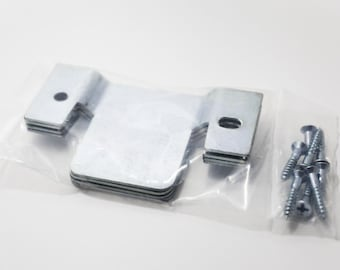 Sofa Sectional Furniture Interlocking Connectors w/Screws - Two New Sealed Sets