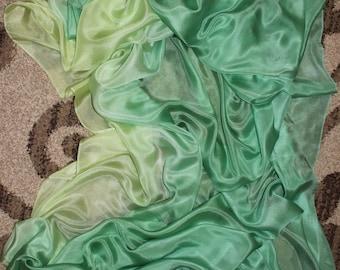 Wonder Mint Silk Bellydance Veil Bellydance Costume Veil