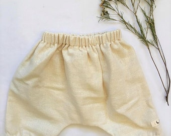 Rustic Natural Bloomers, multiple sizes