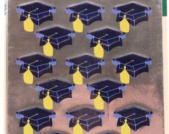 Vintage Hallmark Razzle-Dazzle Graduation Seals. Sealed