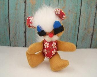 Fluffy Squirrel Plush Ornie Stuffed Animal Ornament Plushie Softie Chipmunk