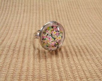Finger ring / ring tree version cabochon (600)