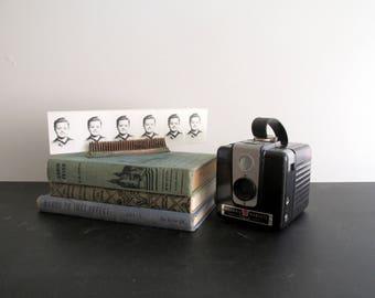 Vintage Kodak Brownie Hawkeye Camera Bakelite Case Mid Century