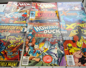 Set of 223 VG condition Marvel Comics.  Mixed series.