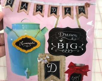 """Chalk It Up"""" collection by Pickle Pie Designs - In the Hoop (ITH) Machine Embroidery"""