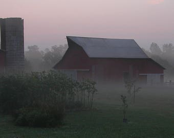 Late Summmer Morning on the Farm