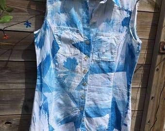 Re vamped short summer dress