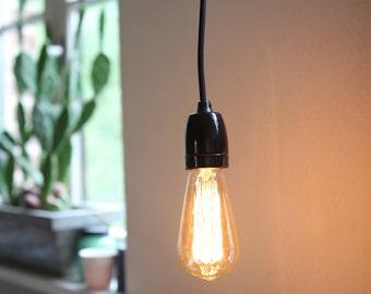 Industrial vintage style hanging lamp
