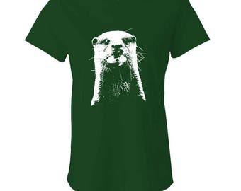 OTTER - Ladies Babydoll T-shirt