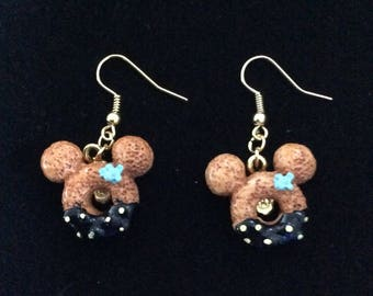 Minnie Donuts Earrings