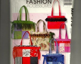 McCall's Totes Pattern MP275