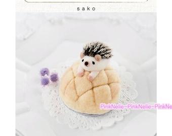 Wool Needle Felting Animals  -   Japanese Craft Book