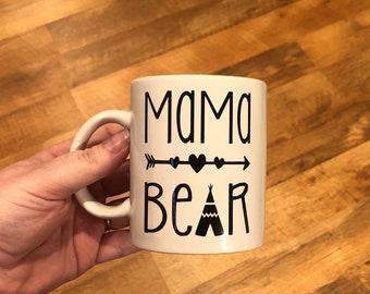 Mama Bear Coffee Mug - style 3