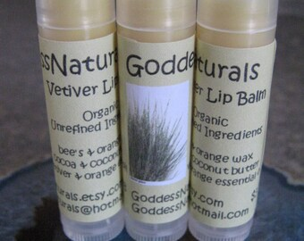"12 ""Vetiver & Sweet Orange"" Lip Balms  0.15 oz tubes ""Retail/Resale Value 36.00"""