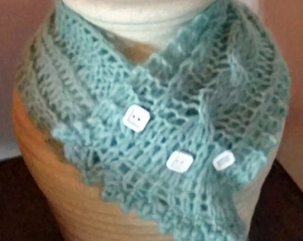 Fisherman Wife's Cowl - Hand Knit
