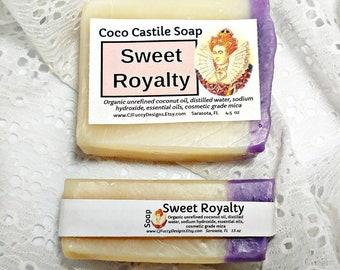 Lavender soap - best soap -  clean soap- coconut oil soap - bar soap