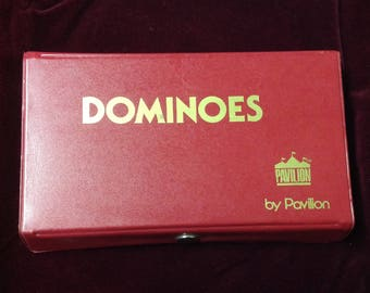 Vintage , set of Dominoes by Pavillon