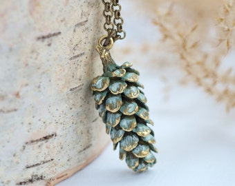 Large Pinecone Necklace, Pine Cone Necklace, Large Pinecone,Nature,Nature Jewelry,Nature Necklace,Nature Inspired