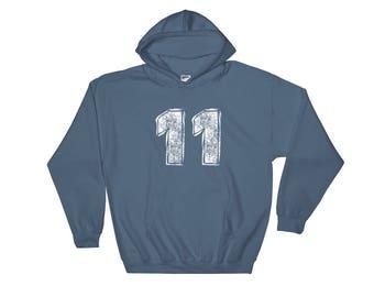 11 Hooded Sweatshirt