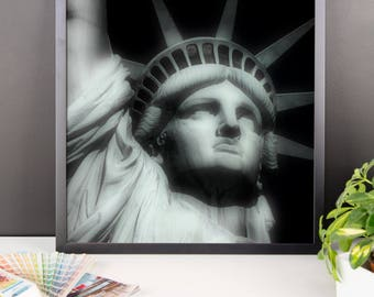Statue Of Liberty Framed Photo Paper Print