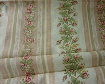 Fabric coupon Yuwa Rose and Rosebud