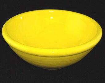 Bright Yellow Bowl
