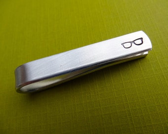 Glasses Tie Bar - Custom Tie Clip - Optometry