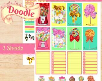 Lollipop | Big Happy Planner Stickers | Big Happy Planner | Happy Planner | Create 365 Stickers | MAMBI