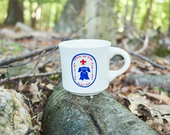 Vintage Boy Scouts Proud of our American Heritage Expo 75 NCAC BSA coffee mug
