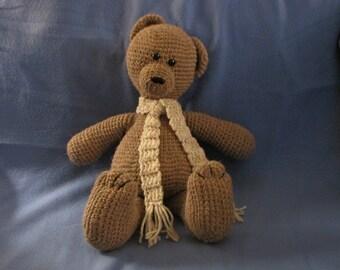 Amigurumi My First Teddy Bear Crochet Pattern