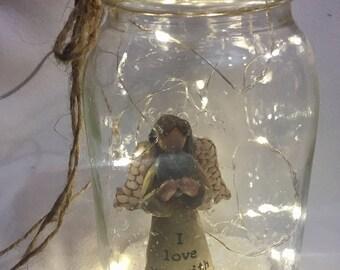 I love you   Angel jar
