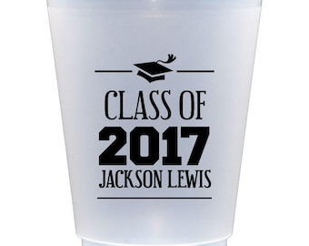 Personalized Shatterproof Party Cups-for Graduation party