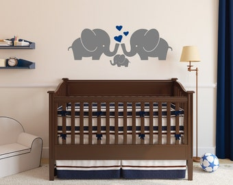 More Colors. Elephant Family Wall Decal ...