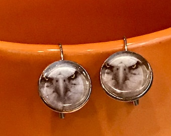 Eagle earrings - 16mm