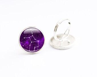 Virgo Ring -  Zodiac Ring - Virgo Jewelry - Zodiac Jewelry