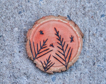 Woodburn color  ornament * Made to order