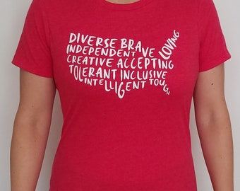 America Is... [Limited Edition Red/White] T-Shirt