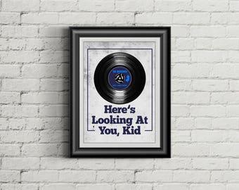 THE GASLIGHT ANTHEM Inspired Poster Print | 11x14 | Lyric Art | Brian Fallon | Wall Art | Home Decor